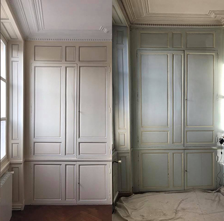 Rénovation peinture intérieure Beauvais